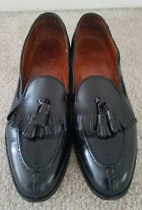 Walk-Over-mens-split-toe-apron-tassel-loafers-11-5C