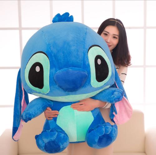Cheap Soft Giant Size Disney Blue Lilo stitch stuffed animal Toy doll 50CM  Kids 507abfbad