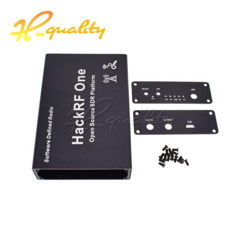 1PCS New HackRF One Aluminum Enclosure Cover case Black