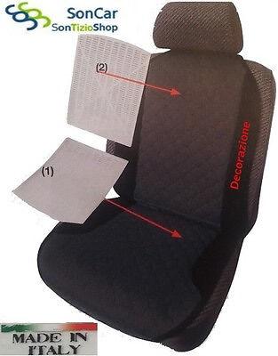 Coprisedile per Auto Ricamato disponibile in più colori! AUDI A4 Schienale