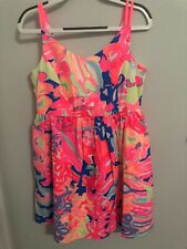 d9416a7022ff item 1 Lilly Pulitzer Girls Playa Hermosa Dress Multi Size 12 BNWT!!! -Lilly  Pulitzer Girls Playa Hermosa Dress Multi Size 12 BNWT!!!