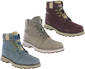 Caterpillar Charli Hiking Ankle Walking Leather Lightweight Boots