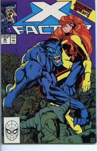 X-Factor 1986 series # 46 very fine comic book