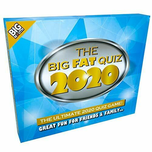 The Ultimate 2020 Quiz Game Of The Year-Idéal Pour The Big Fat Quiz 2020
