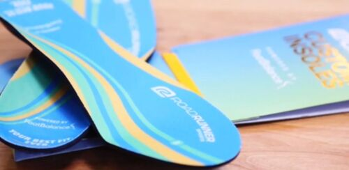 INSOLES Road Runner Sports R-gear US//MENS 6-7 US//WOMENS 8-9 $82.99 NEW