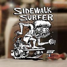 Ed Roth Sidewalk Surfer Skater Sticker Rat Fink Autocollante Hot Rod Aufkleber
