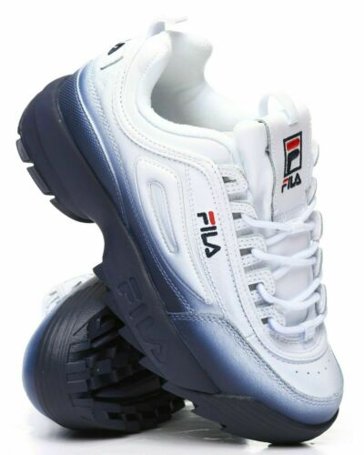 Fila Premium Disruptor Trainers In Mint Green Buty