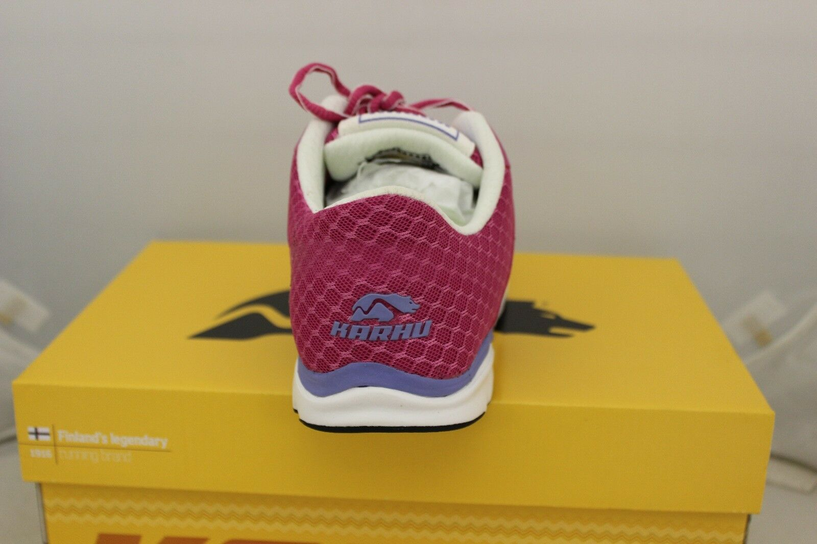 Women's Karhu Flow4 Trainer Running Shoes Brand Berry/Lilac F200131 Brand Shoes New in Box e29872