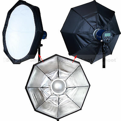 60cm Pliable BOWENS Studio Flash Radar réflecteur Diffuseur Softbox Beauty dish