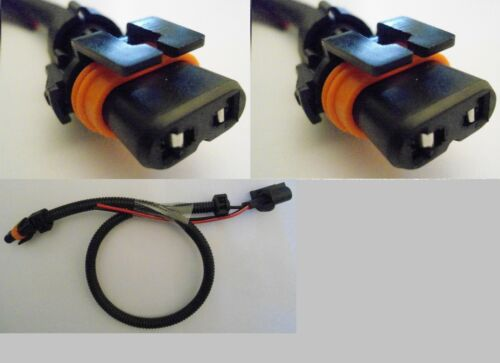 2 x H13 9008 Wire Harness HID Ballast to Stock Socket Connector Plug