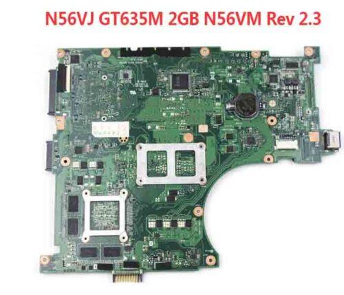 Per Scheda Madre per Laptop Asus N56VJ S989 N56VM Rev 2.3 60-N9JMB1300-F15 GT635M 2GB
