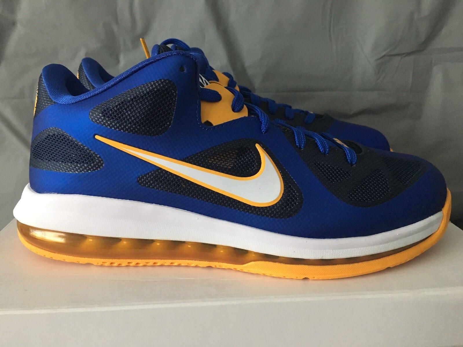 Nike Lebron 9 Low Entourage Game Royal 510811-402 Great discount
