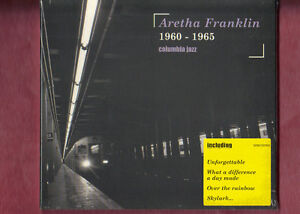 ARETHA-FRANKLIN-1960-1965-COLUMBIA-JAZZ-CD-DIGIPACK-NUOVO-SIGILLATO