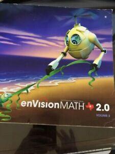 Pearson Texas Envision Math 2 0 Grade K Volume 2 Topics 9-16 9780328767250