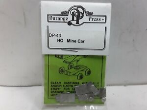 HO-scale-model-railroad-mine-car-kit-Durango-press-DP-43