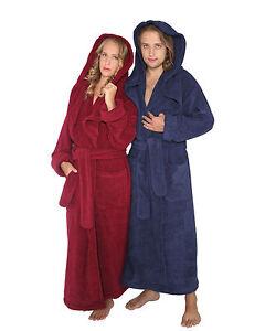 bademantel monk damen herren extra lang und weit mit kapuze saunamantel. Black Bedroom Furniture Sets. Home Design Ideas