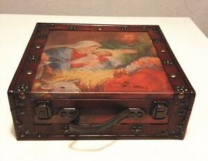 The customized classical style wooden box ( HF038-B )