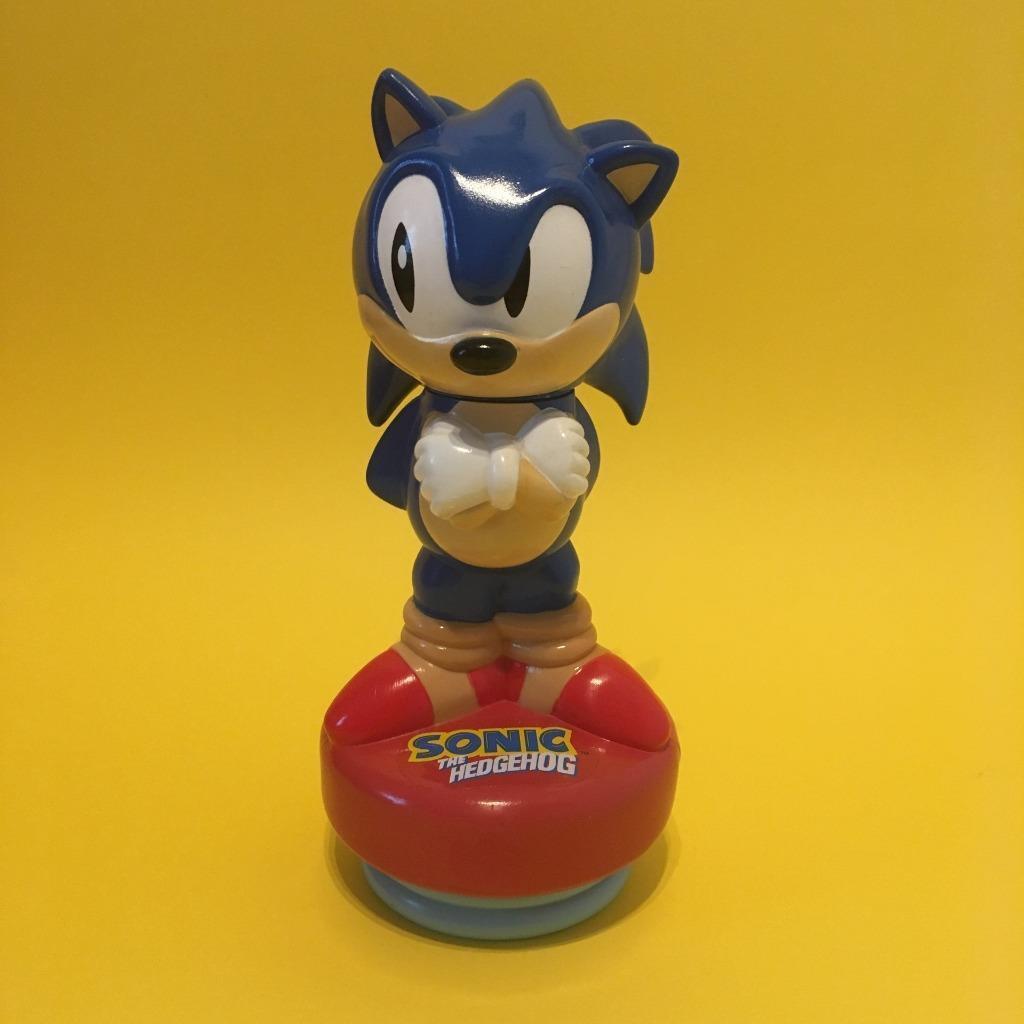 Rare Vintage Sega Sonic The Hedgehog Novelty Matey Bubble Bath Figure 1990s