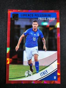2018-19-Panini-Donruss-Soccer-Lorenzo-Pellegrini-Italy-146-Red-Press-Proof