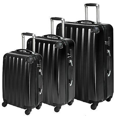 Set 3 maletas policarbonato ABS juego de maleta de viaje trolley 4 ruedas NUEVO