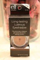 E.l.f. Studio Long-lasting Lustrous Eyeshadow , Elf 81145  Glea Cream