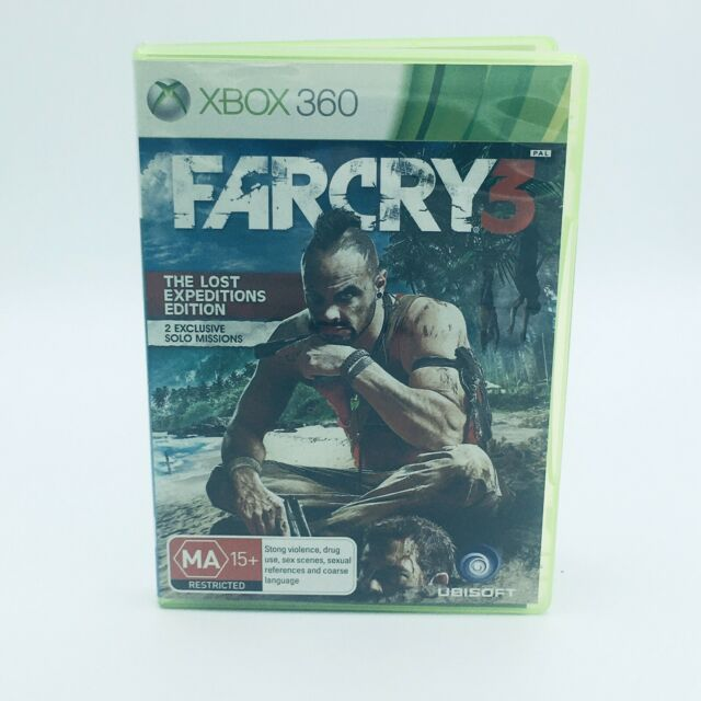 Far Cry 3 Microsoft Xbox 360 Game *Complete* (PAL)