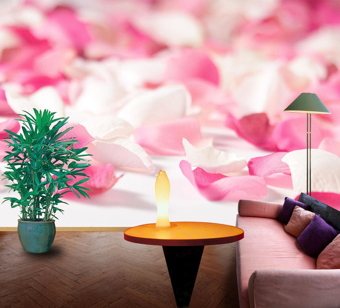 3D Romantic Petals 742 Wallpaper Decal Dercor Home Kids Nursery Mural  Home