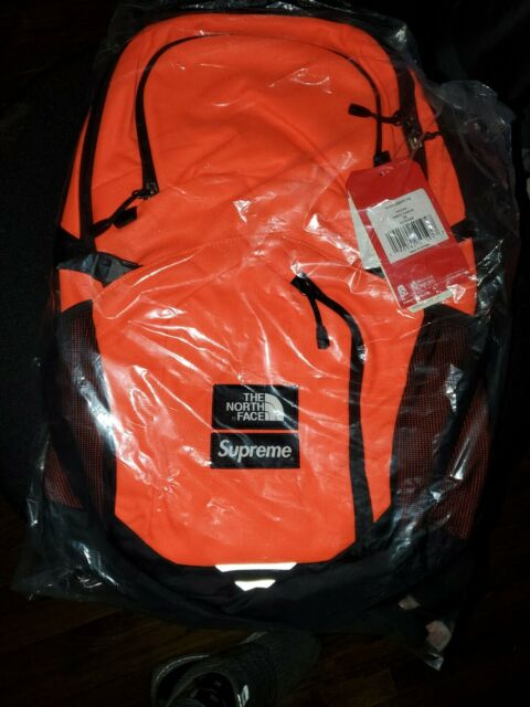 27a40fef2 Supreme X The North Face TNF Power Orange Pocono Backpack Deadstock