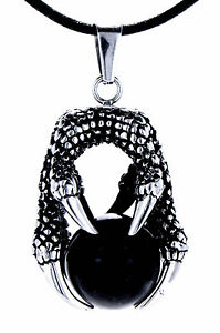108-Dragon-Claws-Pendant-Made-from-Stainless-Steel-with-Chain-Band-Ball