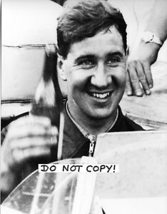 9x6-Photograph-Desmond-Titterington-B-amp-W-Portrait-F1-Connaught-British-GP-1956