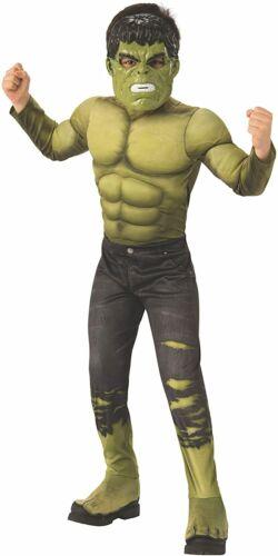 Infinity War Hulk Kids Deluxe Muscle Child Costume S L Rubie/'s Avengers M