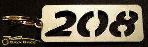 PEUGEOT-208-SCHLUSSELANHANGER-AUTOTUR-SCHLUSSEL-SCHLUSSEL-RING-ANHANGER-STAHL