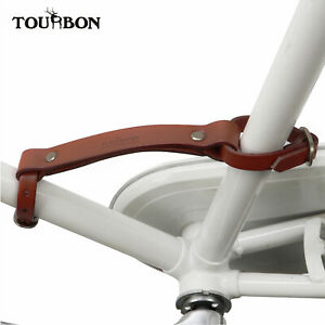 Tourbon Vintage Bicycle Frame Carrying Band Handle Strap Lifter Portage Handgrip