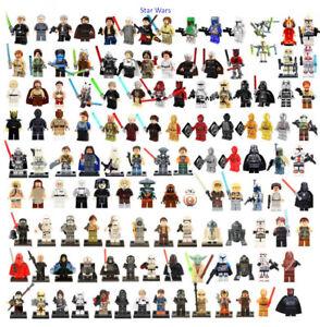 Lego-Star-Wars-Minifiguren-Stormtrooper-Darth-Vader-Yoda-Obi-Van-Mandalorian-NEU