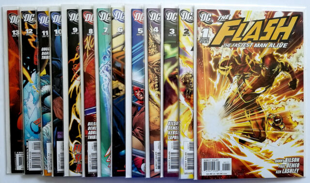 Flash Fastest Man Alive #1-13 Full Set (2006 DC)