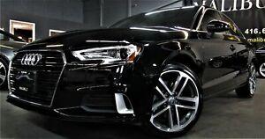 2018 Audi A3 2.0 TFSI quattro Progressiv apple car play camera