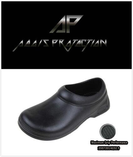 Men/'s Work Clogs Non-slip Shoes Slip Oil Resistant Mules Slippers Lightweight