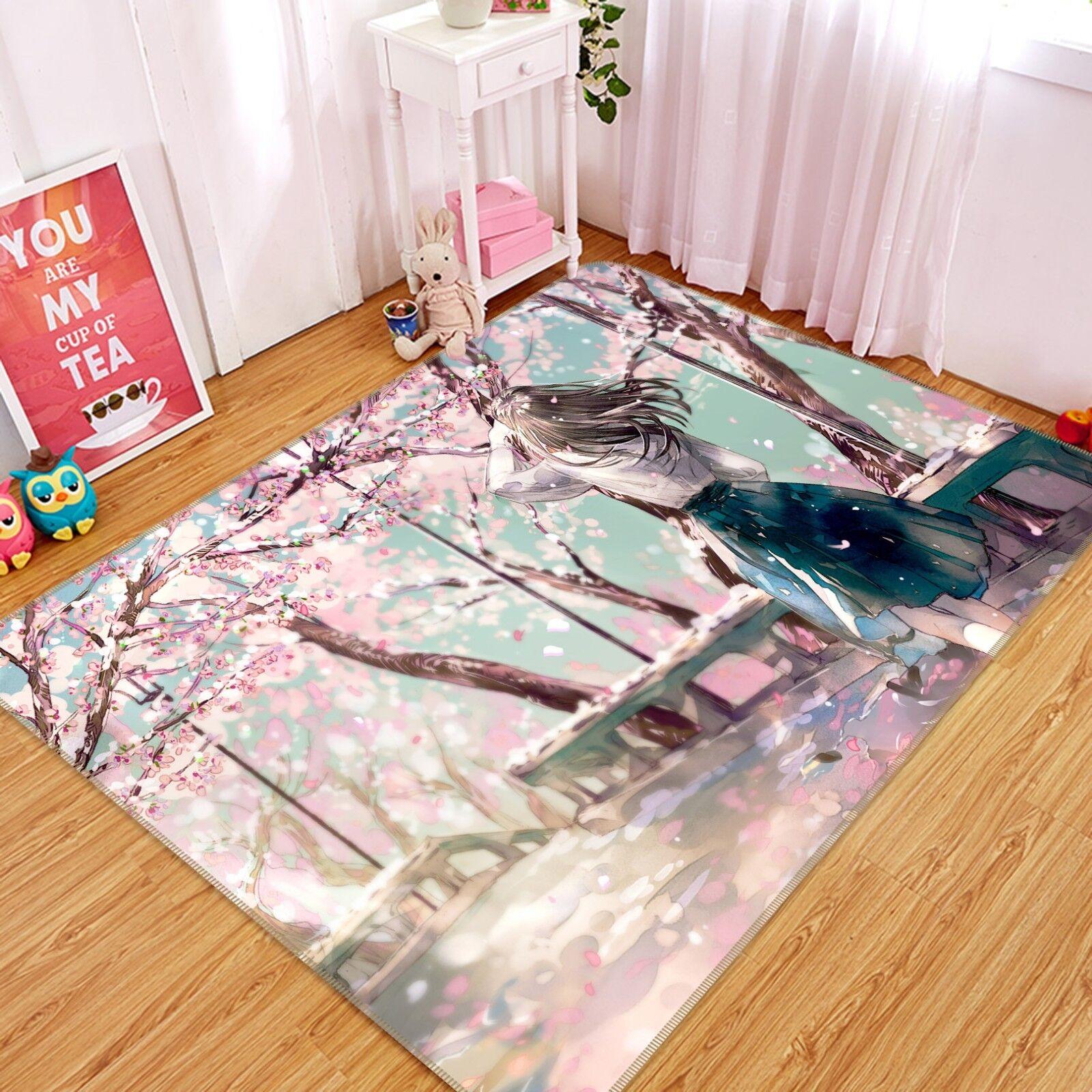 3d Fiore 3 FOTO TAPPETO elegante tappeto antiscivolo gioco ...