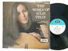 JULIE FELIX THE WORLD OF1969 DECCA SPA-6 SERIES 250 OZ PRESS LP