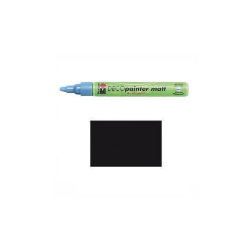 Marabu Deco Painter schwarz Spitze 2-4 mm