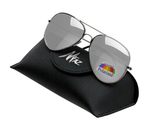 Uomo Donna Pilota a Specchio Occhiali da Sole Polarizzati Moda Anni 80 Tonalità