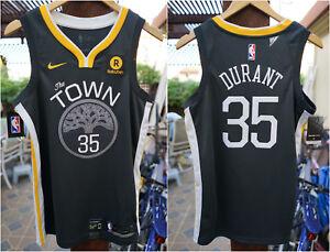 La foto se está cargando Autentico-guerreros-Nike-Kevin-Durant-35-Swingman- Jersey-