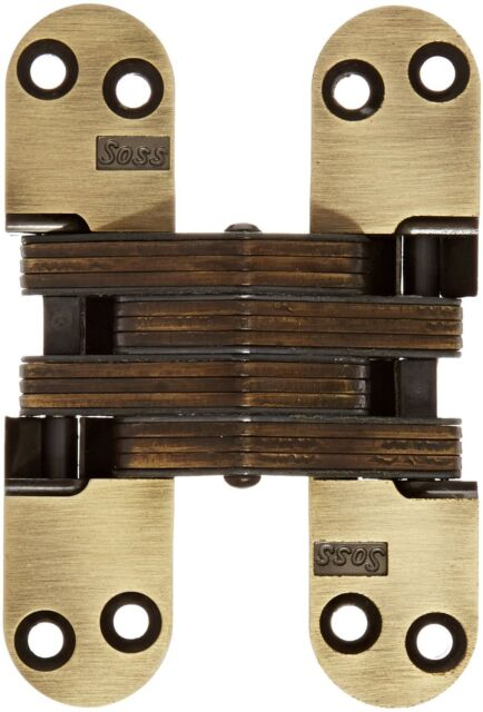 Soss 218 Zinc Invisible Hinge With Holes For Wood Or Metal