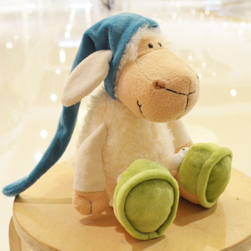 nice plush toy stuffed doll sleeping sheep bed story friend birthday gift 1pc