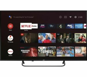"JVC LT-40CA790 Android TV 40"" Smart Full HD LED TV Google Assistant - Currys"