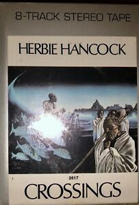 SEALED-NEW-UNOPENED-HERBIE-HANCOCK-8-TRACK-TAPE-CROSSINGS-GREY-1972-WAR-M-82617
