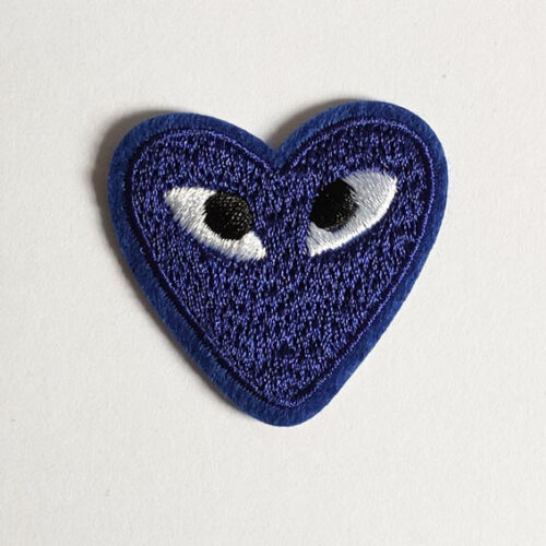 Red Heart Eyes Love Black Pink Yellow eye Iron On Patch Sew On Badge Applique