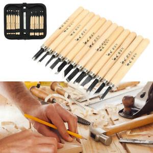 12Pcs-Wood-Carving-Hand-Chisel-Tool-Set-Wood-Working-Professional-Gouges-Case