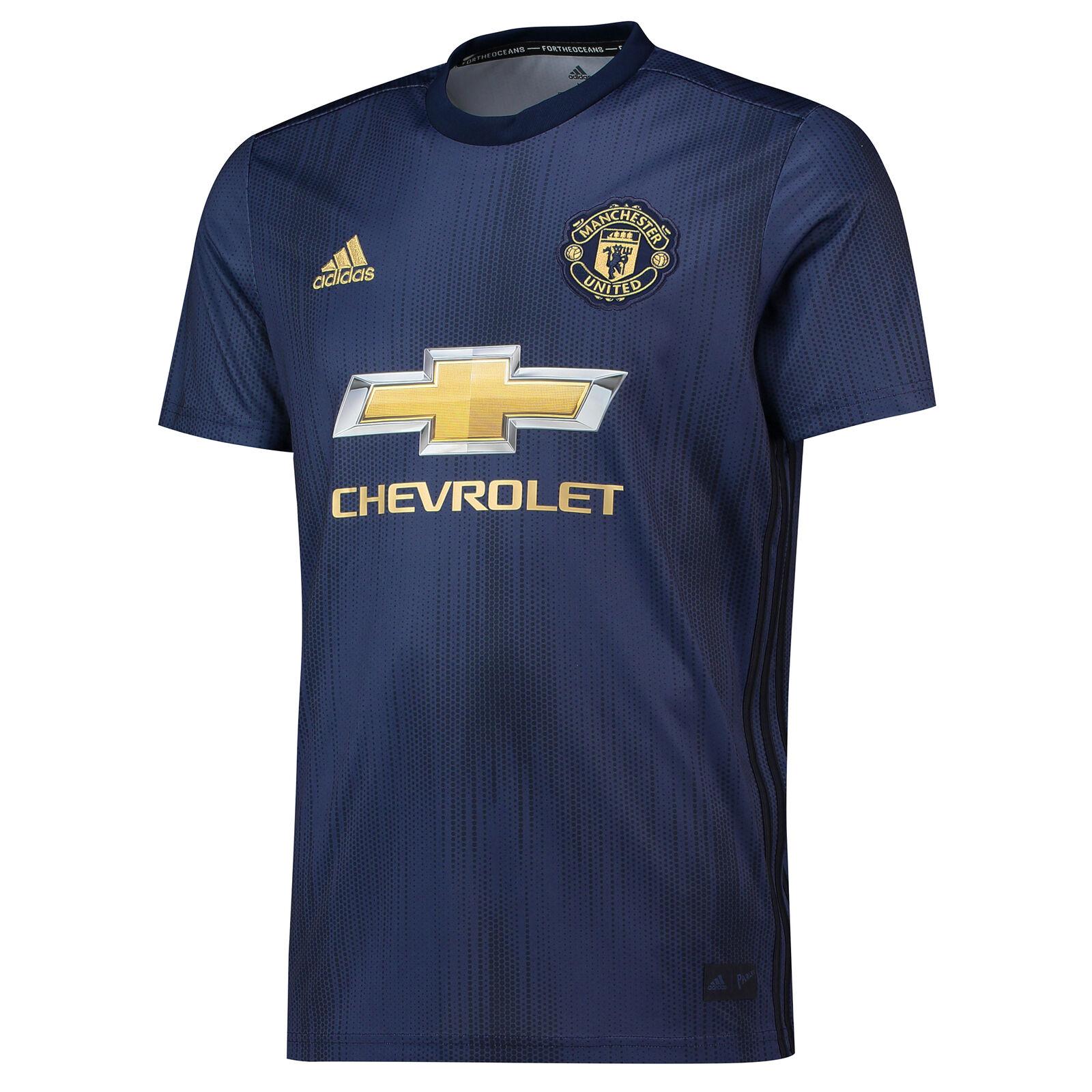 Offiziell Manchester United Third Shirt Fußball Trikot Trikot Trikot 2018 19 Herren adidas 0927ae