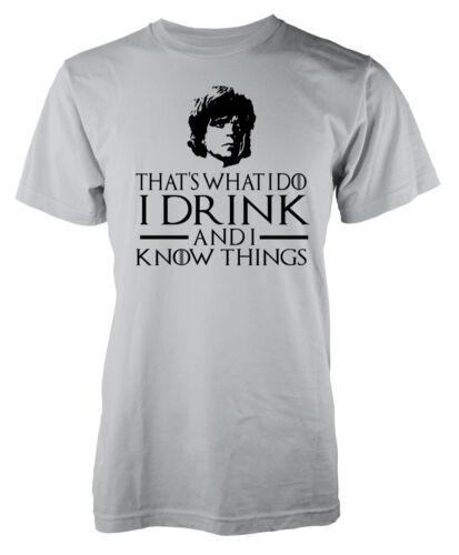 Juego De Tronos inspirado que es lo que yo puedo beber y sé que las cosas Tyrion LAN..